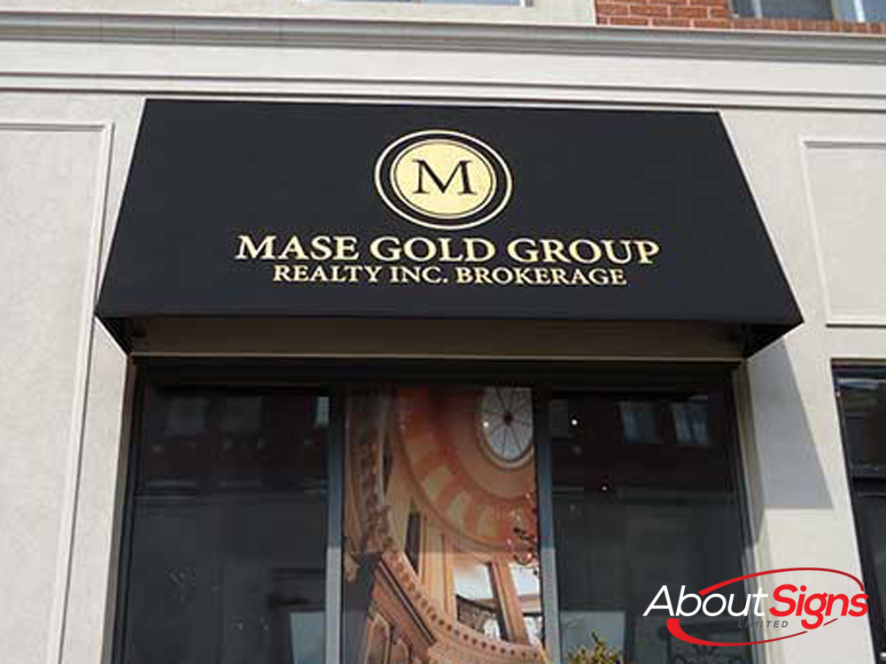 Custom Awnings | Storefront Awnings | About Signs Limited