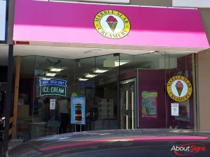 Storefront graphic Mississauga