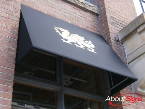 Commercial window awning Oakville
