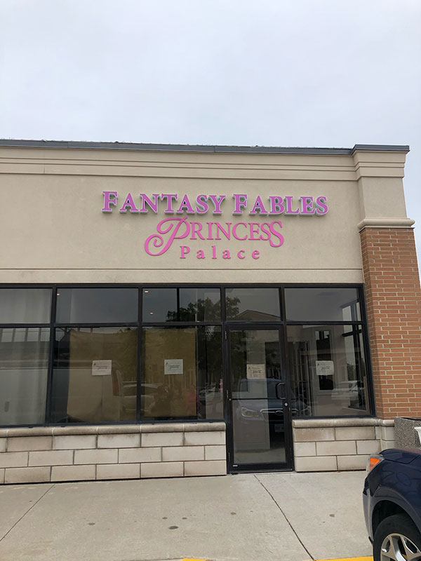Illuminated channel letters and cut acrylic letters - Burlington ON