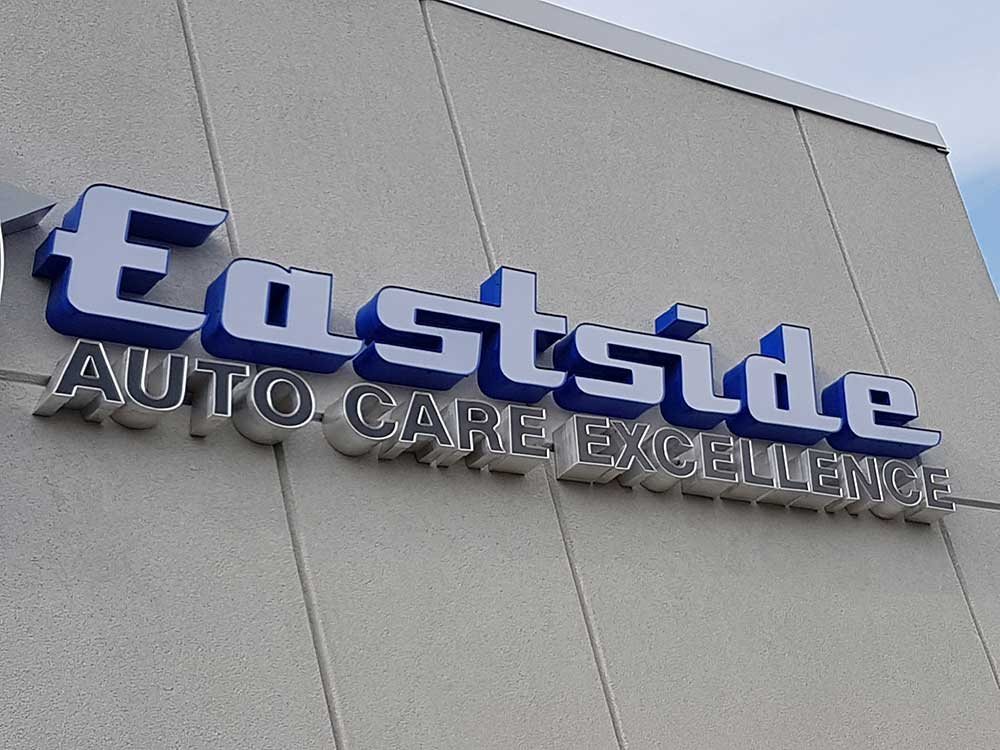 East Side Auto Excellence Channel Letters in Oakville