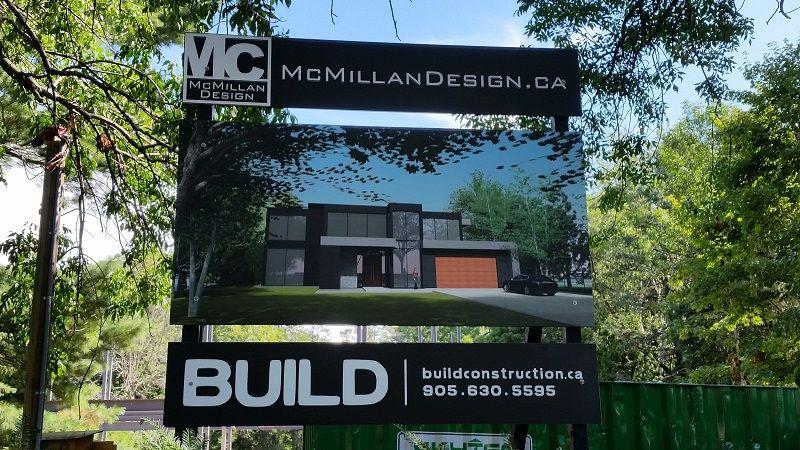 Outdoor Signs Construction Signs Oakville Amp Burlington