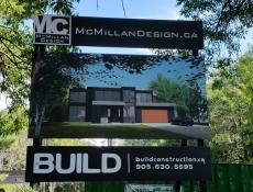 McMillan Design sign