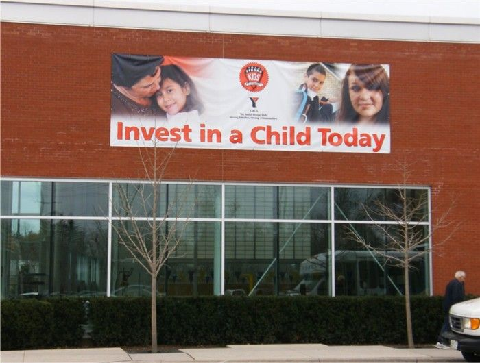 Invest in a Child Sign