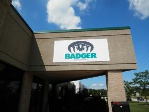 Badger Daylighting Aluminum Sign