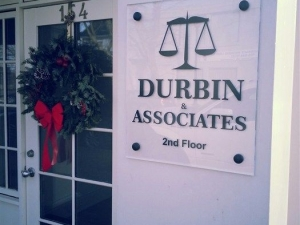 Durbin Directional Sign