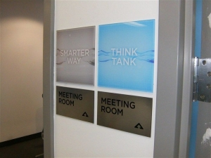 meeting rooms sign