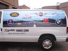 van picture full wrap