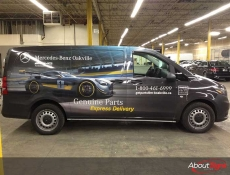 Custom vehicle graphics Oakville ON