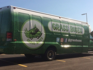 Grassbuses vehicle wrap