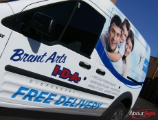 Van wraps Burlington ON