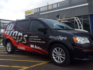 Vehicle wraps van