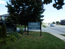 5555 Prince William Drive Ground Sign