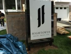 Hightower Oakville ground sign