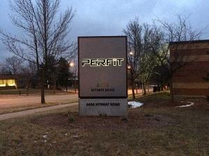 Perfit outdoor sign
