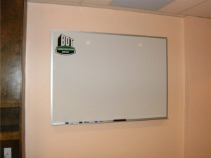 internal communication board branded whiteboard