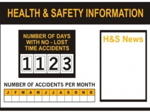 internal communication board health & safety