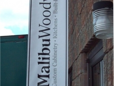 Outward outdoor banner