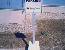 Parking signs - Mississauga