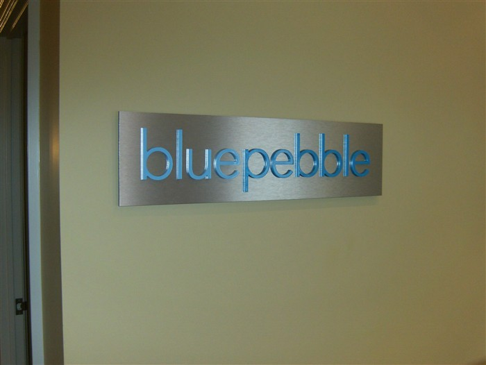 Custom Interior Business Signs Reception Signs