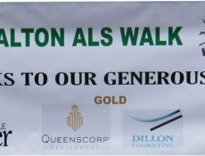 Special event sponsor banner