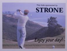 Sponsor sport sign