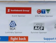 Sponsor banner event sign