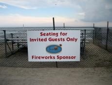 sponsor event sign