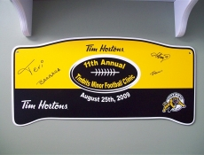 signed special event sport sign