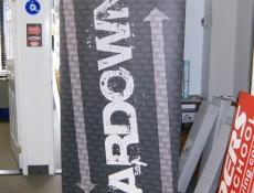 bardown banner stand