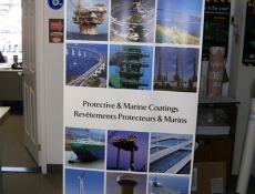 picture banner stand