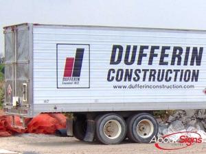 Tractor trailer decals Mississauga