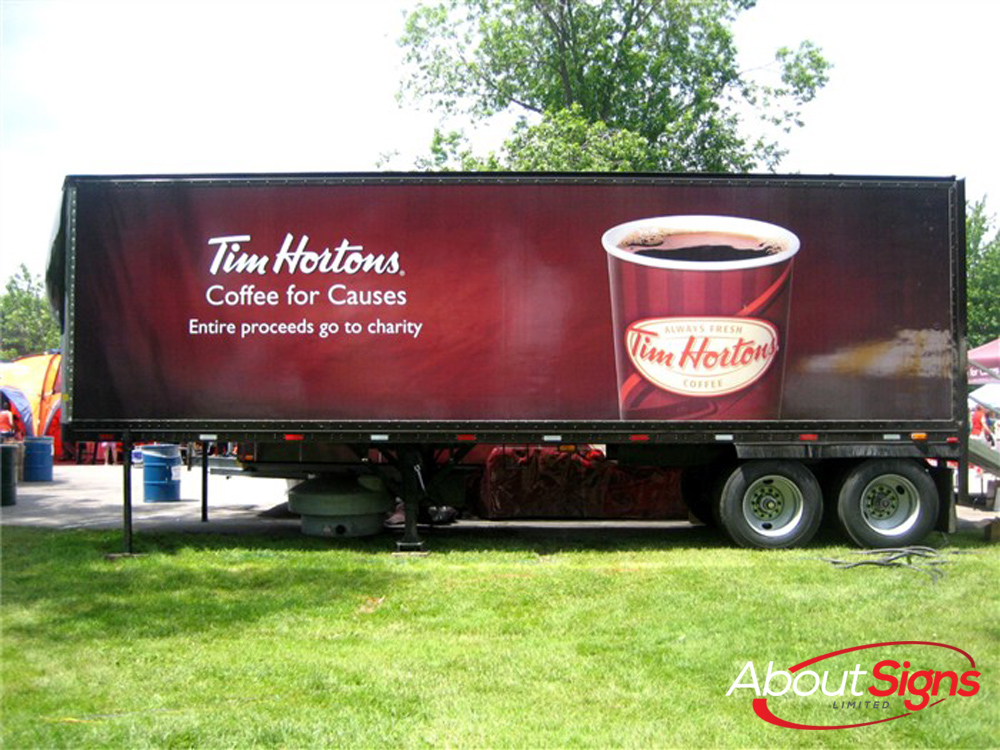Trailer Graphics Lettering Decals And Wraps About Signs