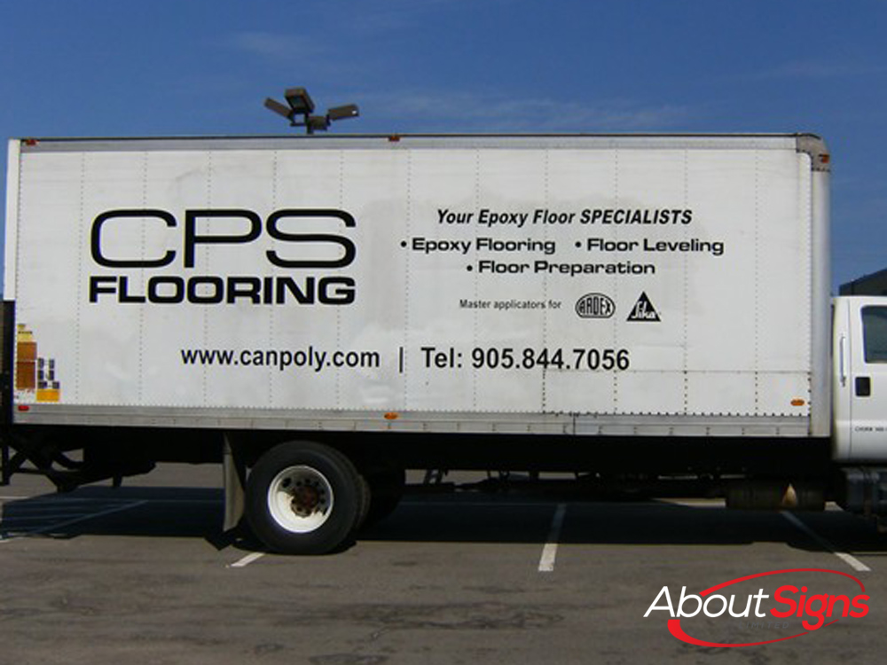 Truck Graphics Lettering Decals And Wraps About Signs