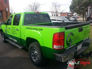 Full truck wrap Burlington