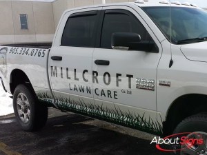 Landscaping Decals