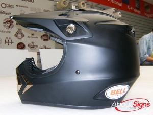 Helmet wraps Oakville