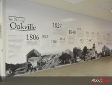 Custom Mural Printing - Town Hall - Oakville ON
