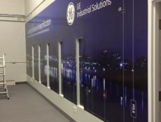 Seamless wall graphics