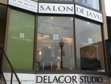Fashion window sign
