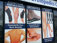 orthopedic window sign pictures