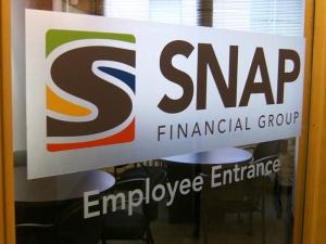 Door Etch - Snap employee entrance