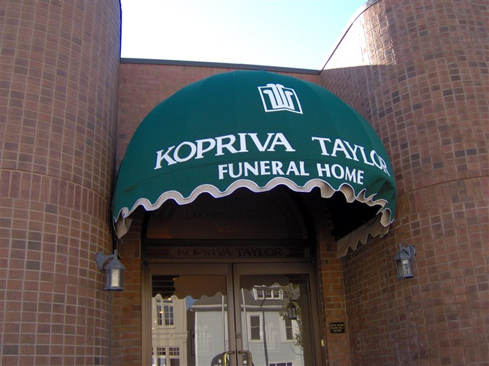 Funeral Home Awning