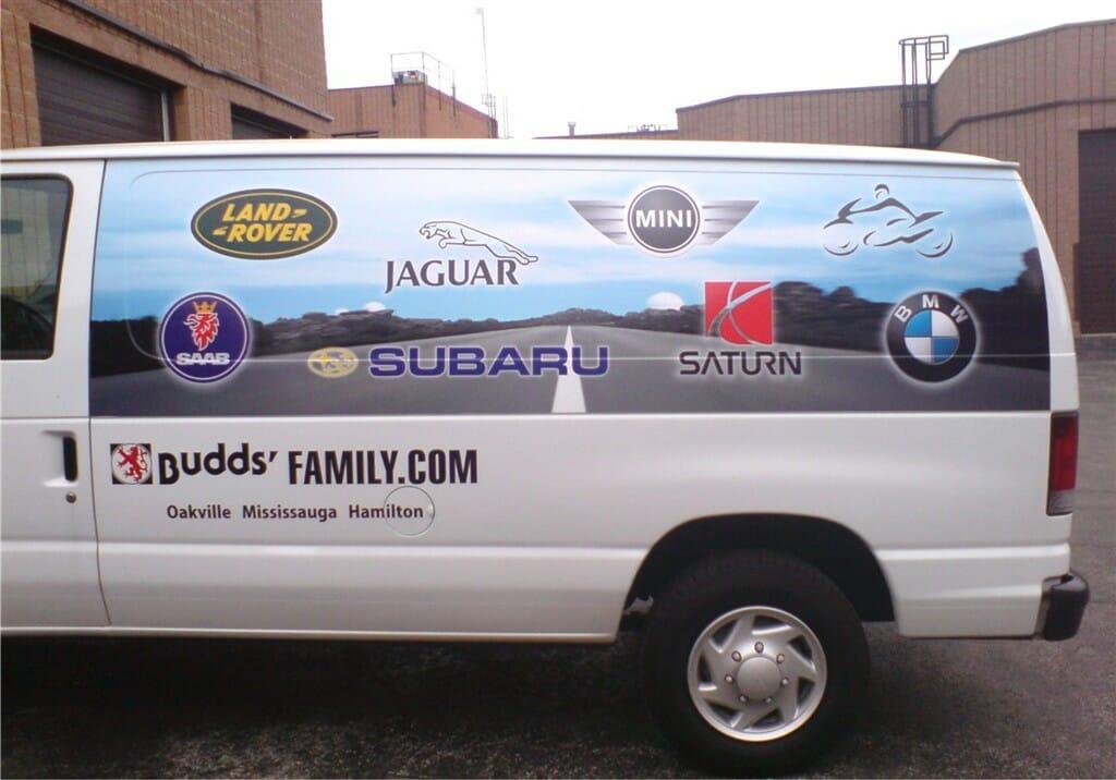 Budd's Family.com Sign