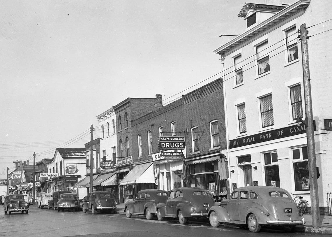Brant Street Burlington 1946