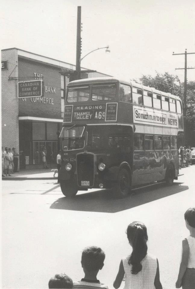 Oakville Double Decker Bus