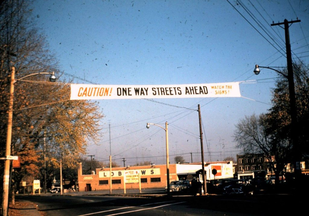 one way street Hamilton