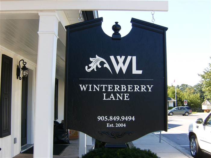 Winterberry Lane Outdoor Sign