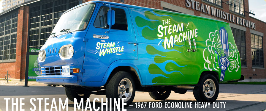 Steam Whistle Econoline