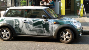X-Ray Car Wrap